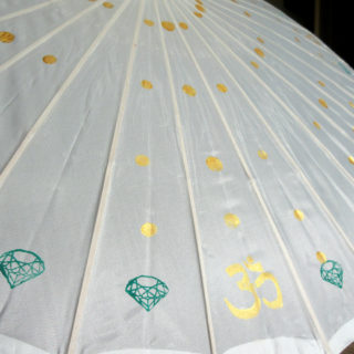 Refractive Diamond Parasol