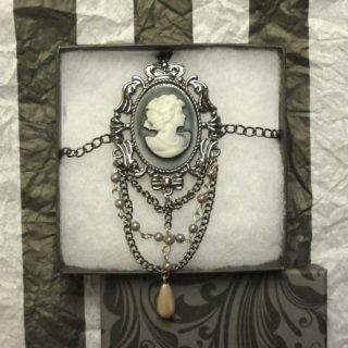 Victorian Cameo Body Chain