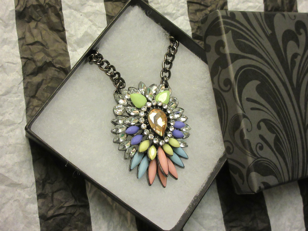Pastel Firework Necklace