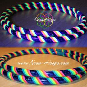 UV Rainbow Hula Hoop